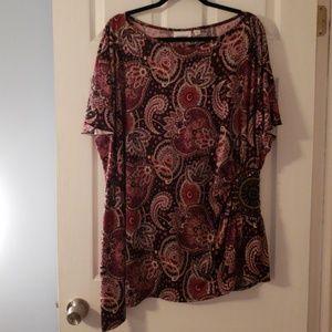 Paisley Dress Blouse 26/28